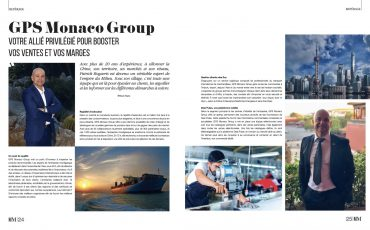 Parution magazine Monaco Monsieur -Mai 2020