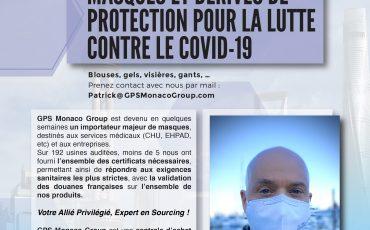 GPS Monaco Group Mobilisé contre le COVD-19